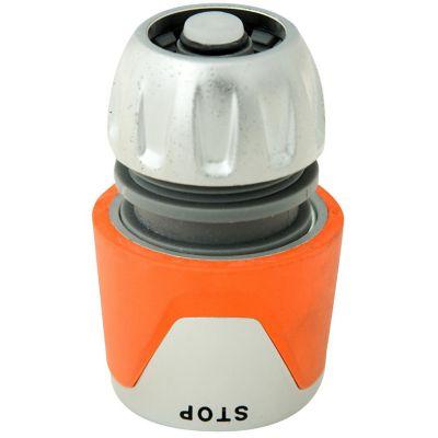 Conector para aspersor 3/4'' con stop premium