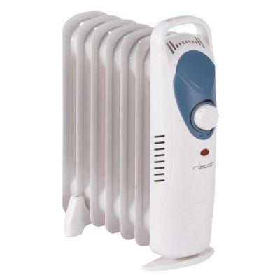 Mini radiador eléctrico blanco 600 w