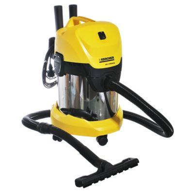 Aspiradora WD3 seco/húmedo amarilla y negra 17 L