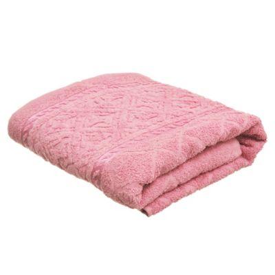 Toalla baño 70 x 140 Confort rosado