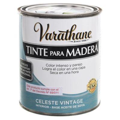 Tinte para madera interior celeste vintage 0,237 L