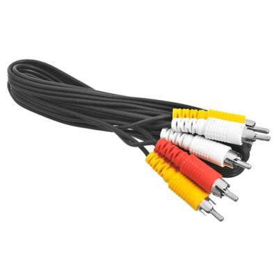 Cable 3 RCA a 3 RCA de 1,8 m