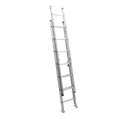 Escalera extensible de aluminio 14 escalones 4,27 m