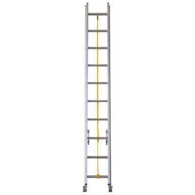 Escalera extensible de aluminio 20 escalones 6.09 m