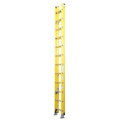 Escalera extensible de fibra de vidrio 28 escalones 8.53 m