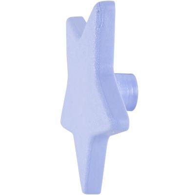 Pomo tirador Estrella azul 70 x 67 mm