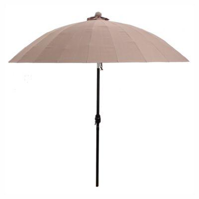 Sombrilla Shanghái 250 x 270 cm marrón
