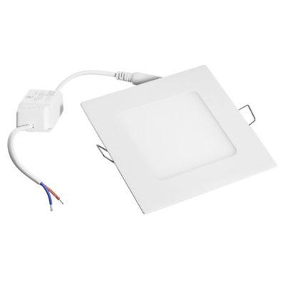 Panel led de embutir cuadrado 12 cm 6 w