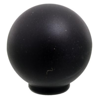 Tirador Bola negro mate 2,9 cm