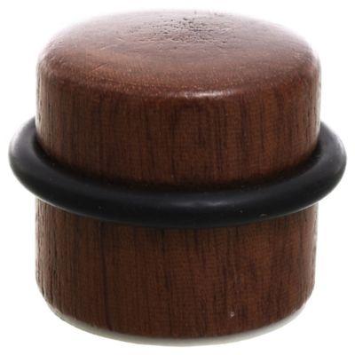 Tope de madera adhesivo sapelli 3,2 cm