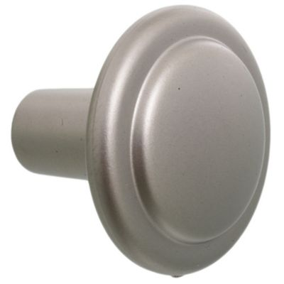 Tirador botón de níquel 1 pieza