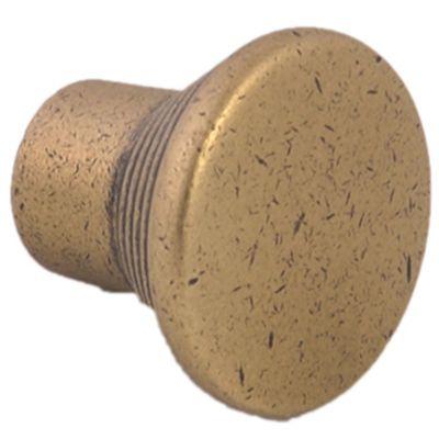 Tirador Botón marrón 3 cm 1 pieza