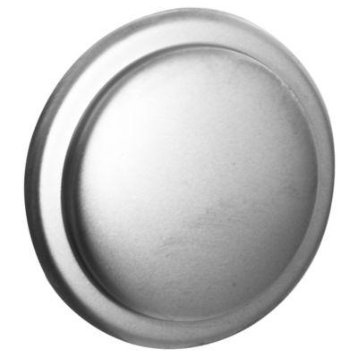 Tirador Botón plateado 3 cm 1 pieza