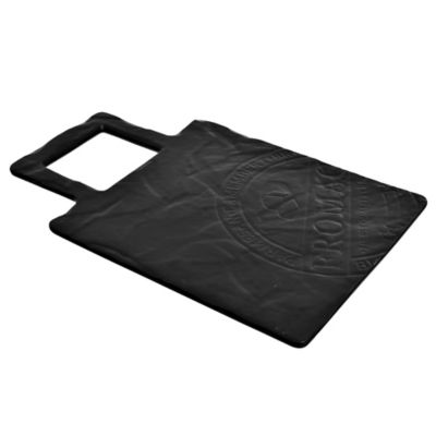 Tabla de porcelana negra cuadrada 29 x 19 cm