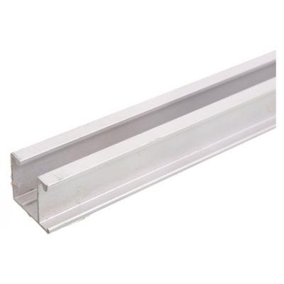 Riel de aluminio U-28 x 3 m