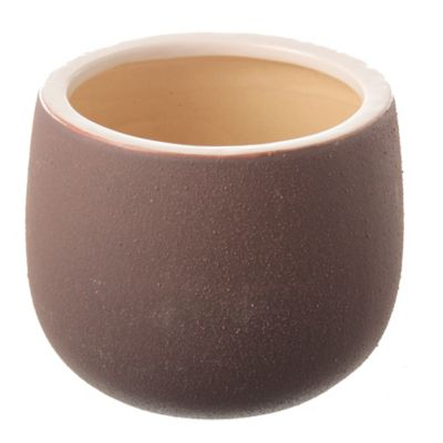 Macetero Ceuta marrón 30 x 23 cm