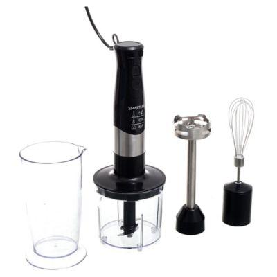 Mixer con accesorios 600 w negro