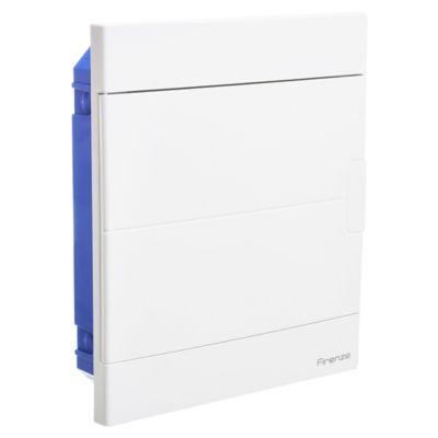 Tablero de embutir 24 módulos tapa blanca