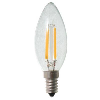 Lamparita LED G45 vela filamento 4 w E14