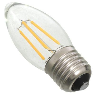 Lamparita LED G45 vela filamento 4 w E27