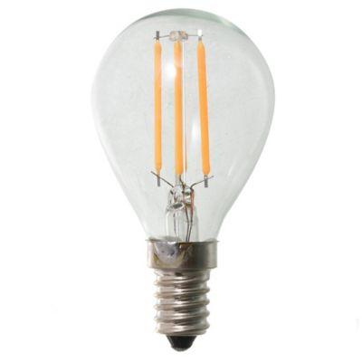Lamparita LED G45 gota filamento 4 w E14