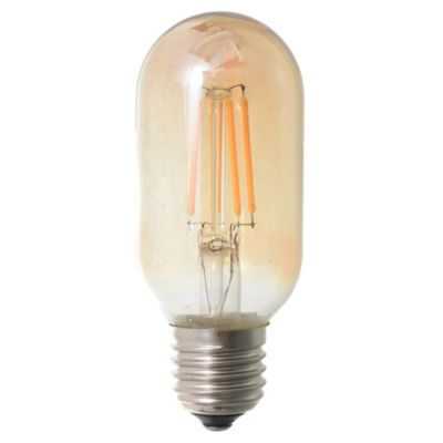 Lámpara de luz LED tubo E27 4 w ámbar