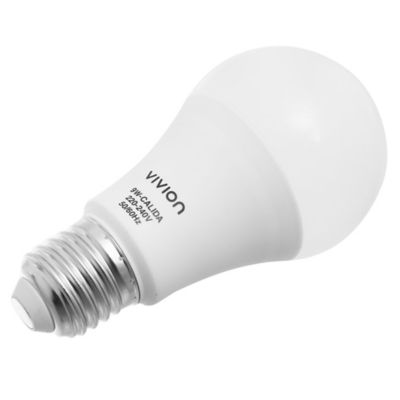Lamparita LED Bulbo A60 cálida 9 w E27