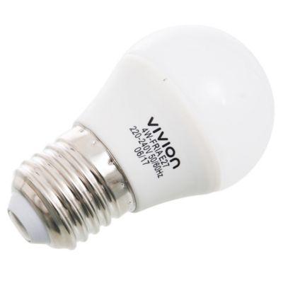 Lámpara de luz LED gota E27 4 w fría