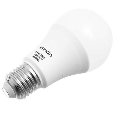 Lamparita LED Bulbo A60 fría 7,5 w E27