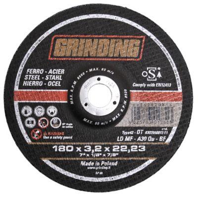 Disco de corte para hierro 180 mm