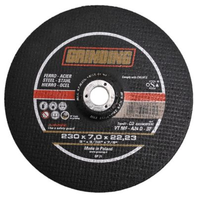 Disco de desbaste para hierro 230 mm