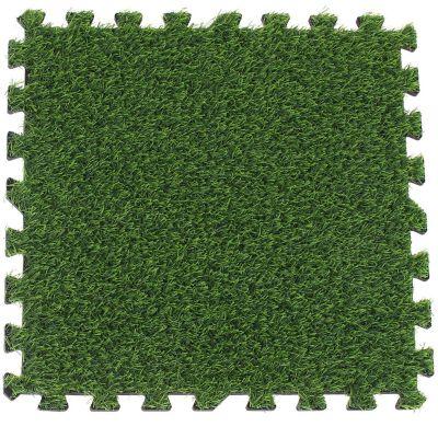 Alfombra Puzzle de pasto sintético encastrable 50 x 50 cm