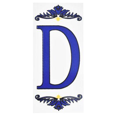 Letra D de cerámica 6,5 x 14,5 cm