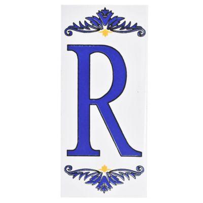 Letra R de cerámica 6,5 x 14,5 cm