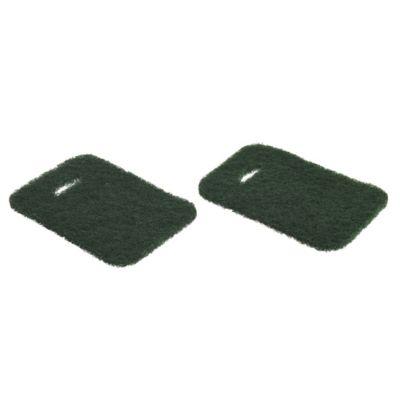 Pack de 2 esponjas de fibra abrasiva 10 x 15 cm