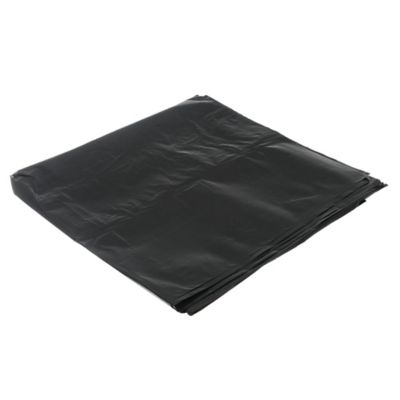 Pack de 10 bolsas de basura negra 50 x 55 cm
