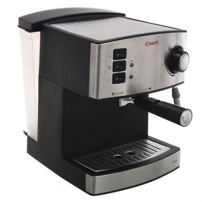 Cafetera Aroma 850 w plateada y negra 1,6 L