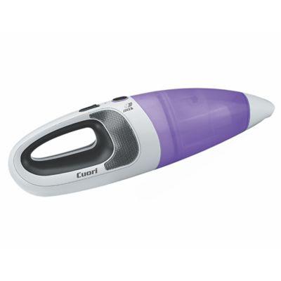 Aspiradora inalámbrica Foggio seco y húmedo blanca y naranja 35 w