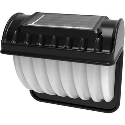 Farol solar de pared LED clásico