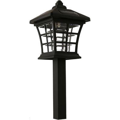 Estaca solar LED Antique negra