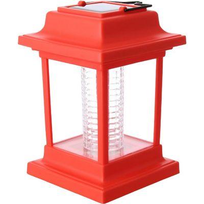 Farolito solar led rojo