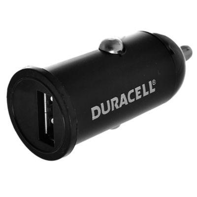 Cargador USB para auto 1 A negro