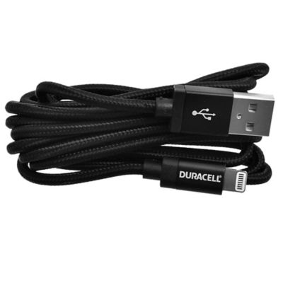 Cable IPhone 1,8 m negro