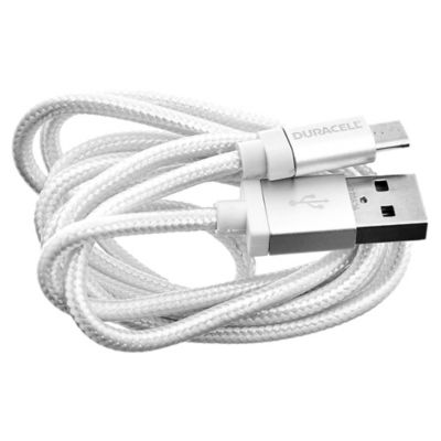 Cable micro USB 90 cm blanco
