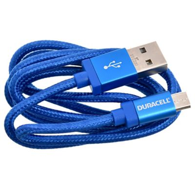 Cable micro USB 90 cm azul