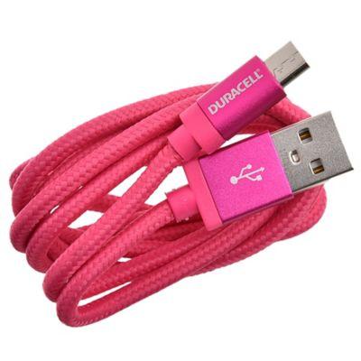 Cable micro USB 90 cm rosa