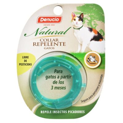 Collar repelente natural para gatos