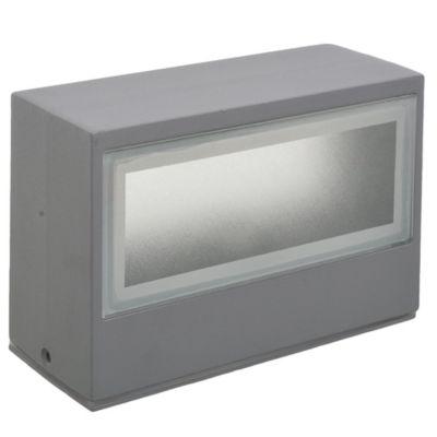 Aplique exterior luz indirecta E27