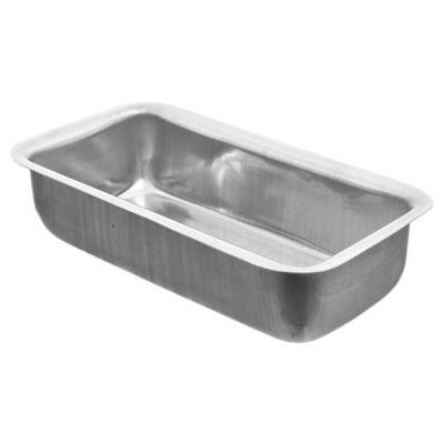 Budinera rectangular de aluminio 22 x 11 x 5 cm