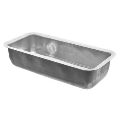 Budinera rectangular de aluminio 25 x 11 x 6 cm